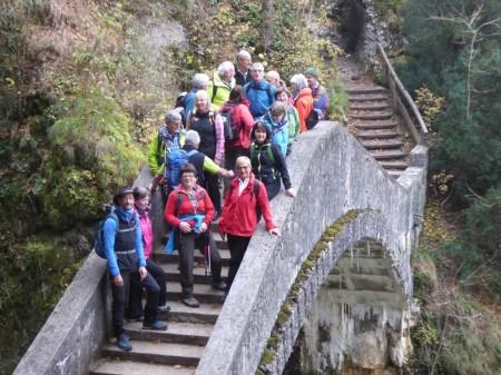Wandersaison mit Tour im Donautal beendet
