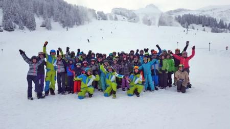Kinderski- und snowboardfreizeit 2019 des DAV Pfullendorfs