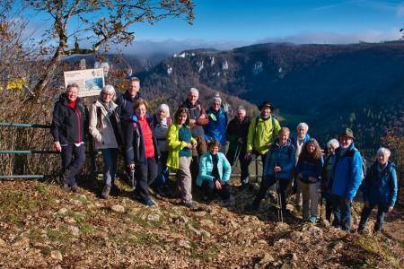Jahresabschlusswanderung der DAV-Sektion Pfullendorf