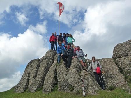 Tolle Eindrücke bei DAV-Bergwanderung auf den Kronberg