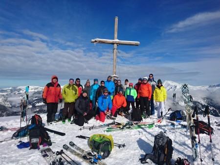 Skitourenwochenende mit Rekordbeteiligung durchgeführt