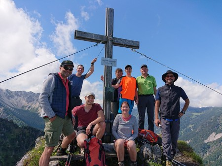 Bergtour Goppaschrofen und Gurtisspitz
