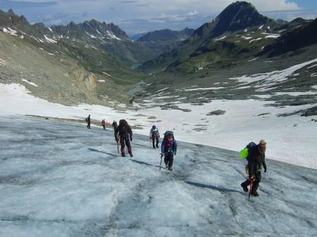 Gletscherkurs erfolgreich durchgeführt