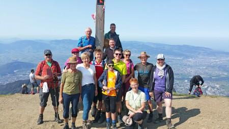 DAV-Wanderer erlebten einen tollen Tag auf der Hohen Kugel (A)
