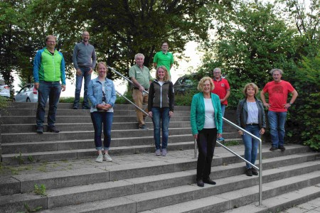 Ehrungen und Wahlen bei der Hauptversammlung der DAV-Sektion Pfullendorf am 01.07.2021 im Haus Linzgau in Pfullendorf